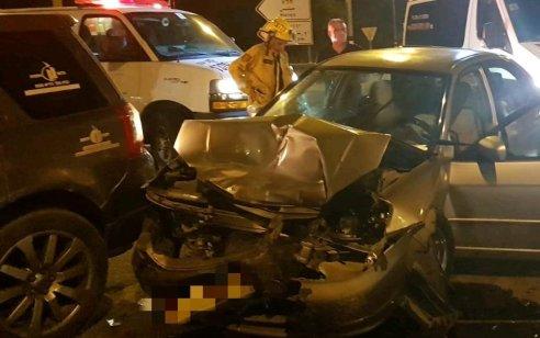 שני פצועים בינוני ופצועה קל בתאונה בכביש 232 צומת חלץ