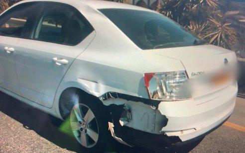 בן 23 נתפס נוהג בשכרות לאחר שפגע עם רכבו ברכב אחר בנסיעה על כביש 90