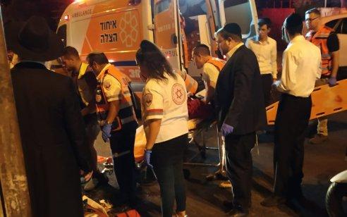 ילד בן 5 שרכב על אופניים נפצע בינוני בתאונה בירושלים