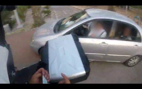 נתפס מסיע 9 נוסעים ברכב פרטי סמוך לאבן שמואל