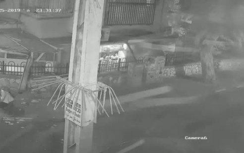 תיעוד ממצלמות אבטחה: פיצוץ המטען בשכונת ויזניץ בבני ברק לפני שבועיים