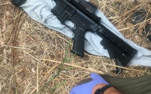 תושב מזרעה בן 24 נעצר בחשד להחזקה של כלי נשק לא חוקי מסוג m-16