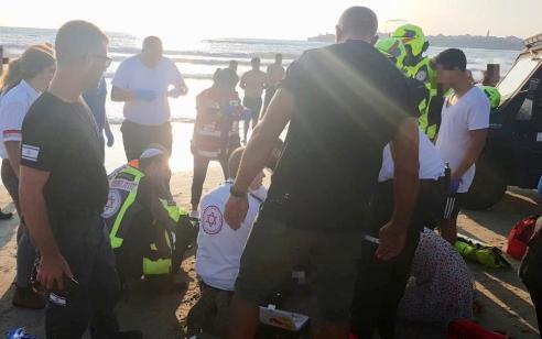 בת 60 טבעה למוות בחוף לא מוכרז בעכו