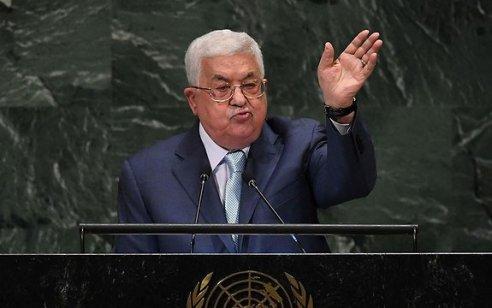 """אבו מאזן בנאומו באו""""ם: """"כל ההסכמים שחתמנו עם ישראל יסתיימו אם ישראל תחיל ריבונות בקעת הירדן"""""""
