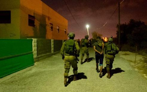 הלילה נעצרו 18 מבוקשים פעילי טרור