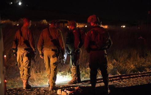 שני מחבלים חמושים בשלושה סכינים ושני קאטרים נעצרו בדרום רצועת עזה