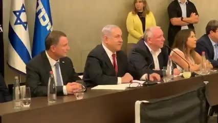 """נתניהו: """"יש שתי אפשרויות – או ממשלה בראשותי או ממשלה מסוכנת שנשענת על המפלגות הערביות האנטי ציוניות"""""""