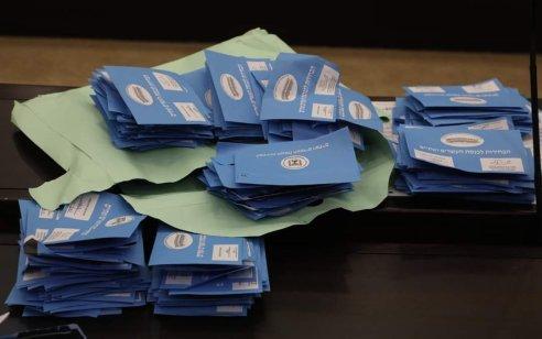 ועדת הבחירות: ׳הליכוד׳ עולה ל-32 מנדטים, יהדות התורה יורדת ל-7 מנדטים