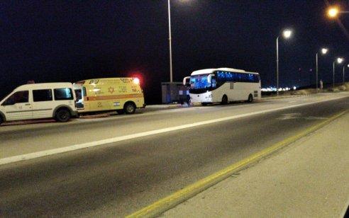 נהג אוטובוס גבן 60 התמוטט סמוך לכלא נפחא ונפטר