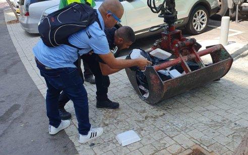 """ת""""א: 187 קילוגרמים של בשר שאינו ראוי למאכל אדם, אותרו על ידי המשטרה והושמדו"""