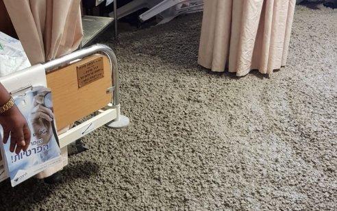 בעקבות תקלה: חדר במחלקת יולדות בלניאדו התמלא אתמול בבטון – בית החולים מבצע תחקיר