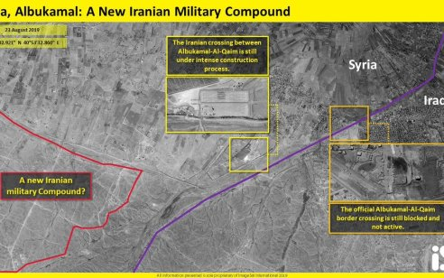 תמונות הלוויין חושפות: איראן החלהלבנות בסיס סודי חדש בגבול סוריה-עיראק
