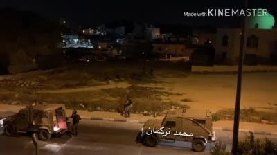 צפו: כ-150 ערבים יידו אבנים לעבר לוחמים סמוך לכפר שוויכה – 32 נעצרו לחקירה והוחרמו מספר רכבים