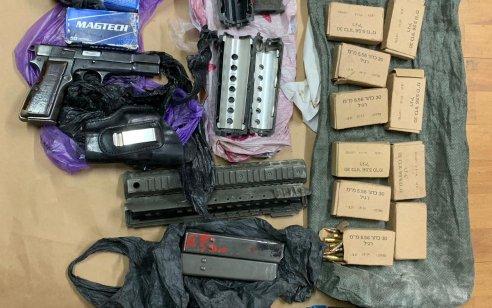 במהלך הלילה נעצרו שישה מבוקשים פעילי טרור ונתפסו שני אקדחים ותחמושת