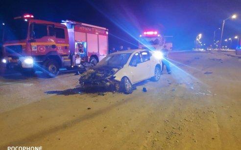 שני פצועים קשה ובינוני לאחר שרכב סטה לתעלה בכביש 4 סמוך למחלף אשדוד