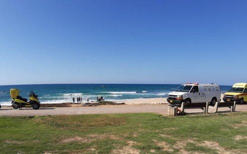 גבר כבן 60 טבע למוות בים סמוך לחוף פלמחים – אדם נוסף חולץ במצב קל