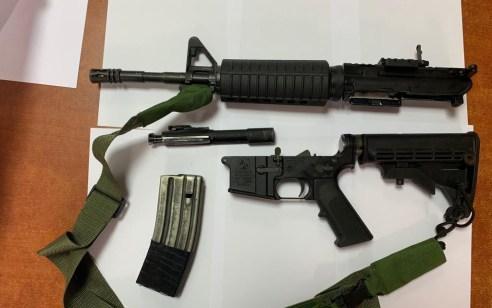 קנה נשק בשכם והוביל אותו ברכבו יחד עם אשתו ושלושת ילדיו הקטנים – 4 חשודים נעצרו