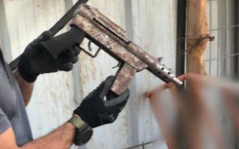 המאבק בשימוש באמצעי לחימה בחברה הערבית: תת מקלע, רובה ציד ותחמושת רבה נתפסו בכפר כאבול