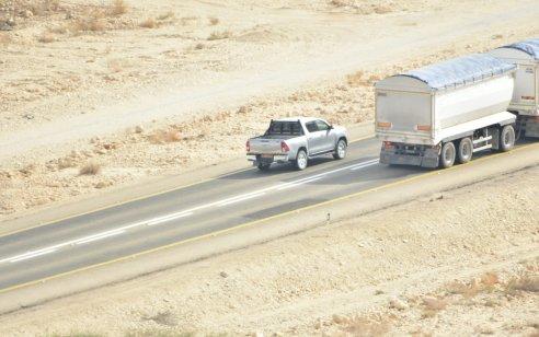 צפו: רחפן, תצפיות, מצלמות סטילס וניידות גלויות וסמויות, לאורך כביש 90 באזור הדרום
