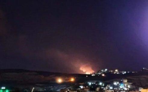 """כלי טיס וכלי שיט תקפו חמ""""ל של ארגון הטרור ומחסן אמצעי לחימה"""