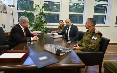 שר הביטחון נפתלי בנט הכריז על מצב מיוחד בעורף ל-48 שעות