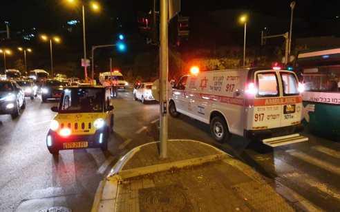 בן 12 נפצע בינוני כתוצאה מפגיעת רכב בירושלים