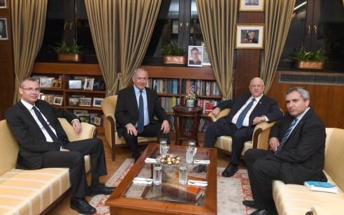 """הסתיימה פגישת ריבלין ונתניהו: """"יש לגנות את הצגת הנבחרים הערבים כ'איום' קיומי"""""""