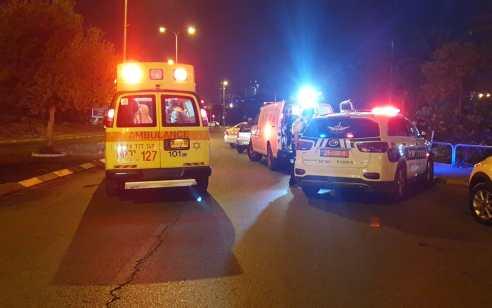 הולך רגל כבן 30 נפגע מרכב ברמלה – מצבו קשה