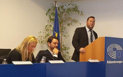 """יוסי דגן ראש המועצה האזורית שומרון בכנס האיחוד האירופי באיטליה: """"איך יהודי יכול מלהיות כובש ביהודה?"""""""