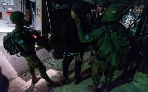 במהלך סוף השבוע נעצרו שבעה מבוקשים פעילי טרור