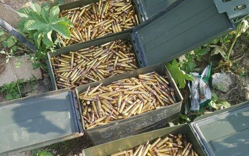 בפעילות מבצעית של המשטרה נחשפו 4 ארגזי תחמושת הכוללים כ4,000 כדורים בג'דידה מכר