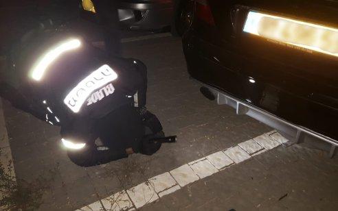 בלשי משטרה פשטו על מפגש רכבים בירושלים שבחלקם נעשו 'שיפורים' ושינויים – 18 רכבים הורדו מהכביש |תיעוד