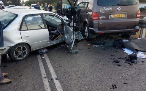 אישה בת 49 נהרגה בתאונה סמוך לשדמות דבורה