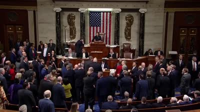 בפעם השלישית בהיסטוריה: בית הנבחרים הצביע בעד הדחת טראמפ – ההכרעה עוברת לסנאט
