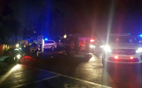 חשד לחיסול בהוד השרון: גבר בן 40 נורה למוות מרכב חולף