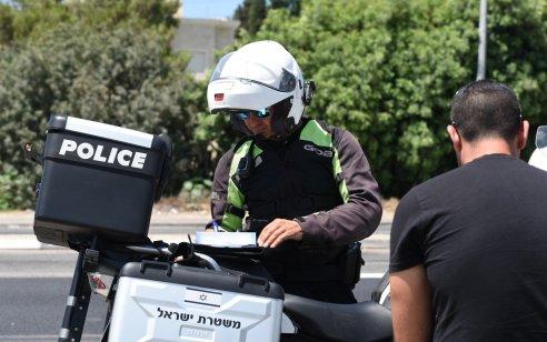 """במהלך השבוע נרשמו כ-5,500 דו""""חות תנועה במיקוד עבירות מסכנות חיים ובריונות כביש"""
