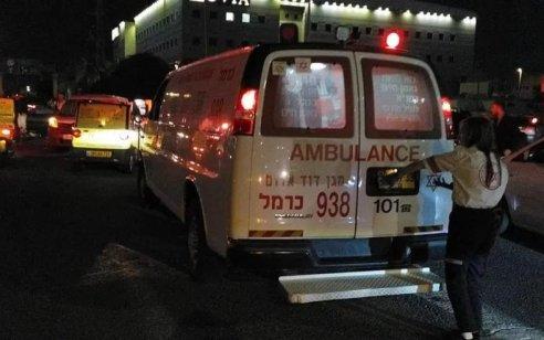 הולך רגל נהרג מפגיעת מונית בחיפה