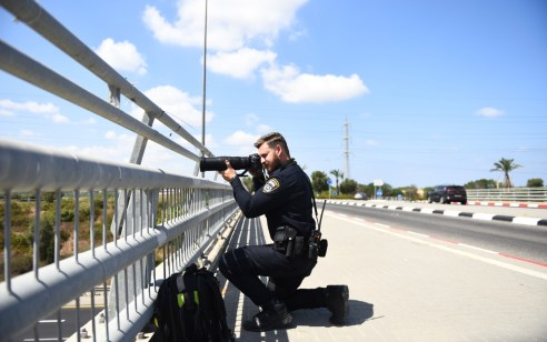 """במהלך השבוע נרשמו כ-6,200 דו""""חות ע""""י שוטרי אגף התנועה"""