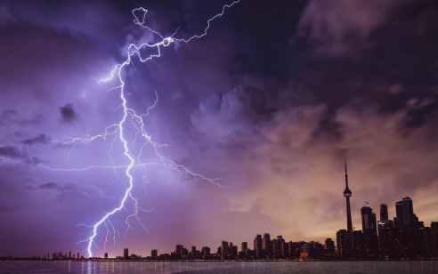 הסערה חוזרת: גשמים מלווים בסופות רעמים וברד – חשש להצפות ושיטפונות