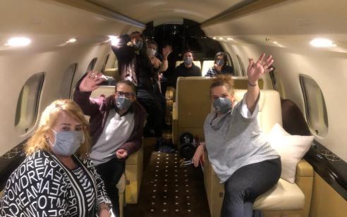ספינת הקורונה: המטוס עם הנוסעים הישראלים המריא מיפן לישראל