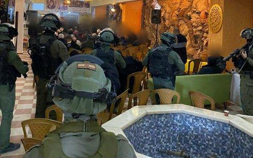 """לוחמי מג""""ב פיזרו כינוס לא חוקי במחנה הפליטים שועפאט – ביציאה מהמחנה נעצרו 3 חשודים ביידוי אבנים"""