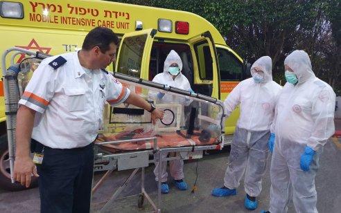 שני ישראלים שוחררו מ'ספינת הקורונה' והיתר יירדו ממנה בהמשך היום או מחר