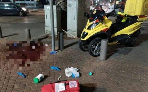 גבר כבן 40 נפצע קשה בקטטה בתל אביב