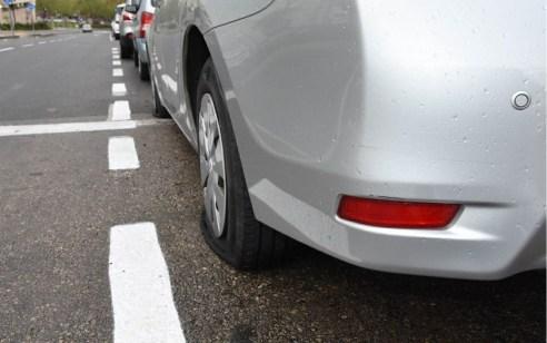תושב מודיעין ניקב צמיגים של כלי רכב בעיר ונעצר