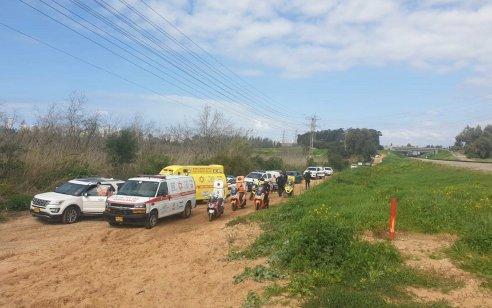 צעיר שרכב על אופנוע נהרג כתוצאה מפגיעת רכבת סמוך לגשר נחל פולג