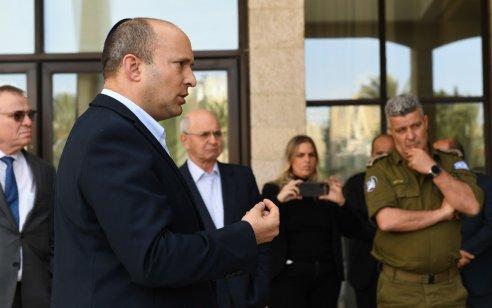 נגיף הקורונה: שר הביטחון הנחה על צעדים נוספים כלפי האוכלוסייה הפלסטינית