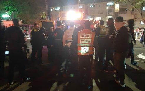 בן 30 נפצע קשה כתוצאה משריפה בביתו בקרית גת