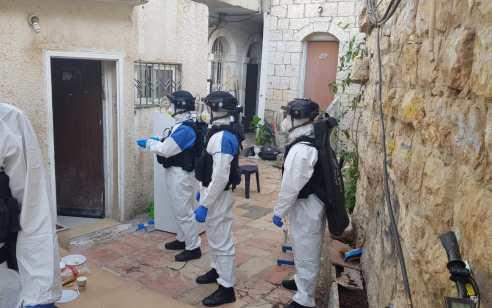 חולה קורונה שהפר בידוד נעצר בשכונת מאה שערים בירושלים