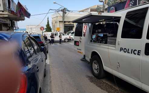 מטען אותר סמוך לרכב בשכונת הדר בחיפה – המשטרה פתחה בחקירה