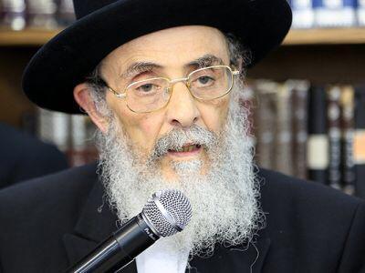 """המייסד של שתילי זיתים: הרב יהודה זיאת זצ""""ל נפטר בגיל 85"""